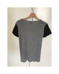 Top, tee-shirt coton gris Michael Kors en coloris Gray