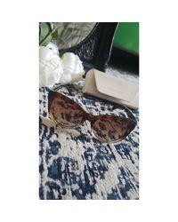 Lunettes de soleil marron Michael Kors en coloris Brown