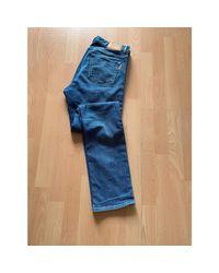 Jeans slim denim, jean bleu Sandro pour homme en coloris Blue