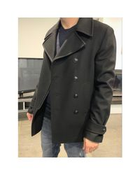 Manteau laine noir The Kooples pour homme en coloris Black