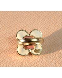 Bague métal multicolore Chanel