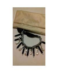 Collier coquillage noir Jean Paul Gaultier en coloris Black