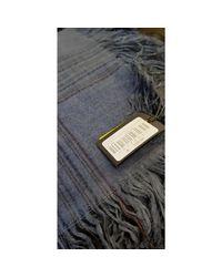 Foulard laine bleu Fendi pour homme en coloris Blue