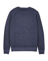 Vilebrequin Blue Men Wool Crewneck for men