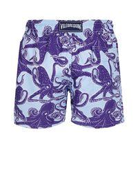 Vilebrequin Blue Men Swimwear Vintage Octopus for men