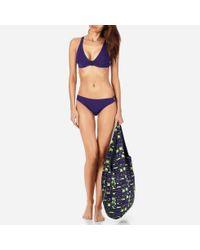 Vilebrequin Multicolor Women Asymmetric Bikini Bottom Solid Water