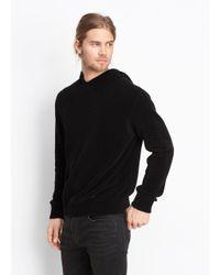 Vince - Black Pullover Hoodie for Men - Lyst