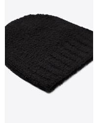 Vince - Black Textured Beanie for Men - Lyst