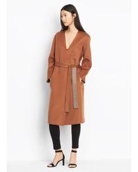 Vince - Multicolor Reversible Wool Coat - Lyst