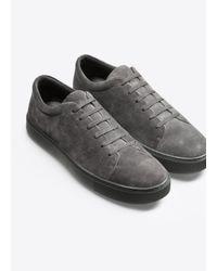 Vince Multicolor Luke Sport Suede Sneaker for men
