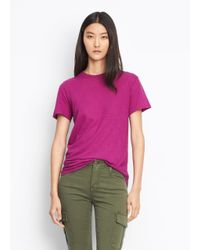 Vince Purple Swing Tee