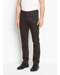 Vince - Multicolor Stretch Twill Trouser for Men - Lyst