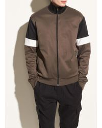 Vince - Multicolor Color Block Track Jacket for Men - Lyst