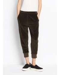 Vince - Multicolor Velour Cuffed Jogger - Lyst