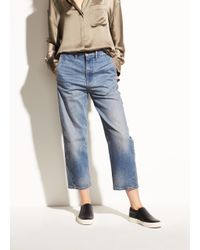 Vince - Blue The Utility Twisted Leg - Lyst