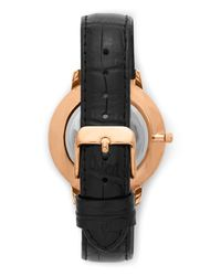 Vince Camuto - Metallic Croc Embossed-band Watch for Men - Lyst