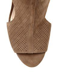 Vince Camuto - Natural Louise Et Cie Vanita – Perforated Cutout Sandal - Lyst