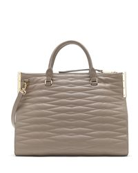 Vince Camuto - Multicolor Tina - Clipped Corner Satchel - Lyst