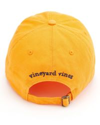 Vineyard Vines Multicolor Whale Logo Baseball Hat for men