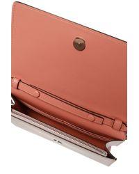 Givenchy Pink Logo Embossed Shoulder Bag