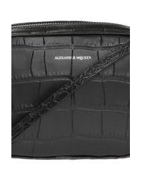 Alexander McQueen Black 'camera Bag' Shoulder Bag