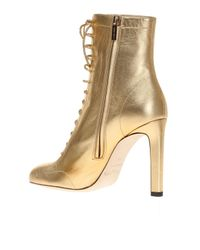 Jimmy Choo - Natural 'daize' Heeled Ankle Boots - Lyst