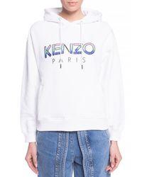 KENZO Logo Sweatshirt White