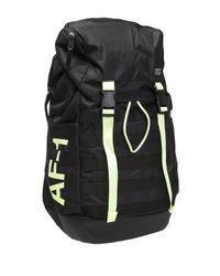 Nike Black 'af-1' Backpack With Logo for men
