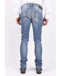 DIESEL Blue 'thavar' Jeans for men