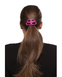 Balenciaga Black Logo Hairband