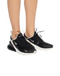 Nike Black Airmax 270 Sneakers