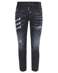 DSquared² Black 'skater Jean' Jeans for men