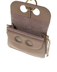 J.W. Anderson - Brown 'pierce' Shoulder Bag - Lyst