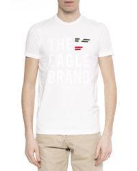 Emporio Armani White Logo T-shirt for men
