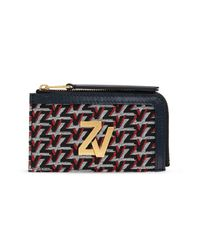 Zadig & Voltaire Card Case With Logo Black