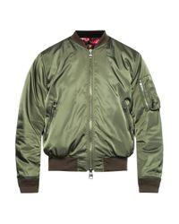 Alexander McQueen Green Bomber Jacket for men