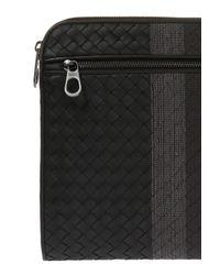 Bottega Veneta - Black Leather Briefcase for Men - Lyst
