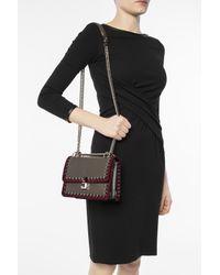 Fendi - Brown 'kan I' Shoulder Bag - Lyst