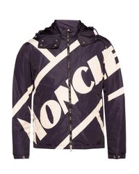Moncler Black 'bert' Down Jacket for men