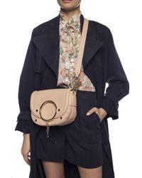 See By Chloé Pink 'mara' Shoulder Bag