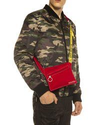 Off-White c/o Virgil Abloh Red Branded Shoulder Bag for men