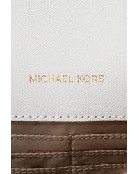 Michael Kors - White 'daniela' Shoulder Bag - Lyst