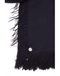 Ann Demeulemeester - Black Wool Scarf for Men - Lyst