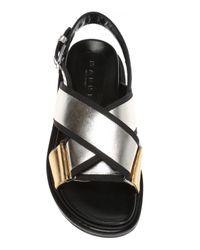 Marni Black Criss-cross Straps Sandals