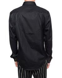 Vivienne Westwood Logo-embroidered Shirt Black for men