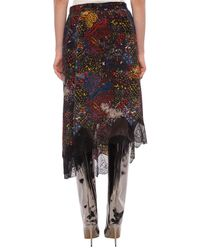 Zadig & Voltaire Multicolor Patterned Skirt