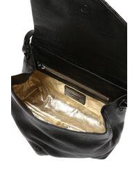 Marsèll Black Leather Shoulder Bag