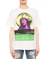 Undercover Multicolor Printed T-shirt Multicolour
