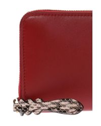 Alexander McQueen - Red Safety-pin Necklace - Lyst