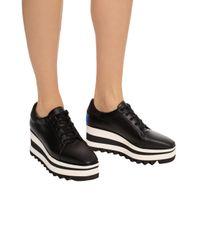 Stella McCartney Black 'elyse' Platform Shoes